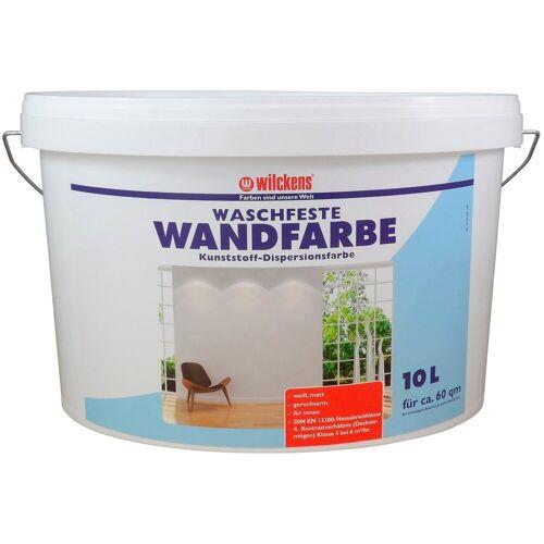 Wilckens Farben Fassadenfarbe »Wandfarbe waschfest«, weiß