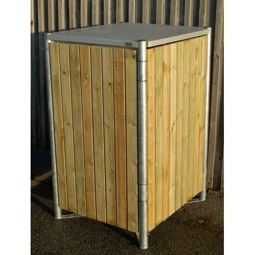 Hide Mülltonnenbox für 1 x 120 l, natur, natur