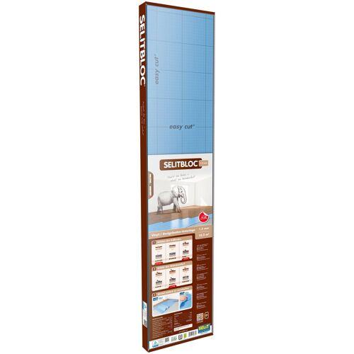 Selit Trittschalldämmplatte »BLOC«, 1,5 mm, 10,2 m², für Vinyl- und Designböden, faltbar