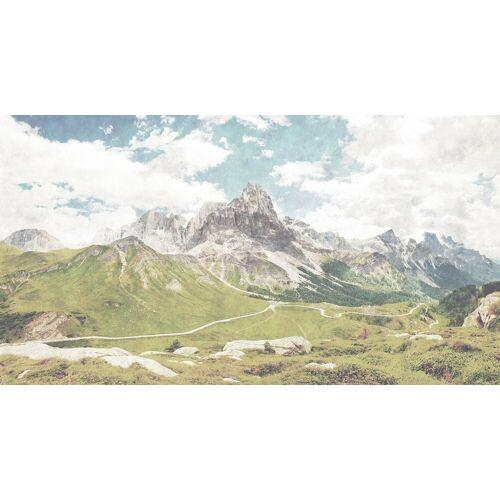 living walls Fototapete »Walls by Patel Dolomiti 2«, glatt, (5 St)