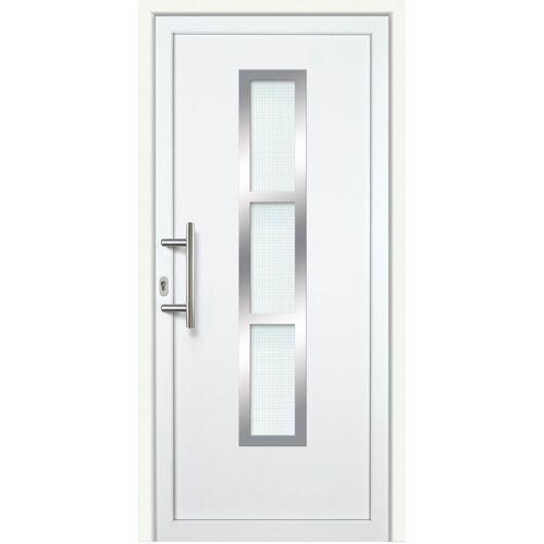 KM Zaun Haustür »K745P LS«, BxH: 98x198 cm, weiß, links
