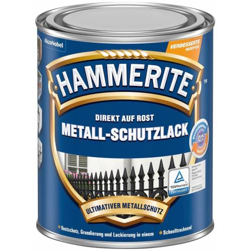 Hammerite Hammerite HAMMERITE Metallschutzlack »Matt«, weiß, 0,25 Liter