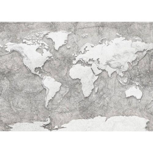 Komar Fototapete »World Relief«, glatt, Steinoptik, bedruckt