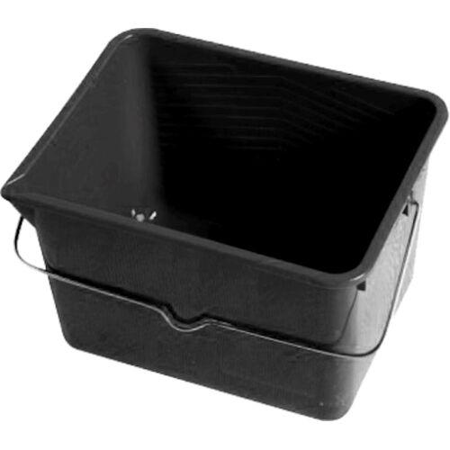 TRIZERATOP Farbeimer »Farbeimer PVC schwarz, mit literskala + Ausgieseck«