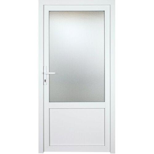 KM Zaun Nebeneingangstür »K603P«, BxH: 98x208 cm cm, weiß, links
