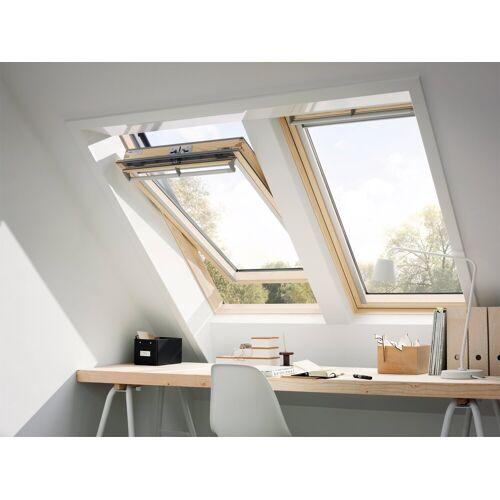 VELUX Dachfenster »GGL CK04«, Schwingfenster, BxH: 55x98 cm, anthrazit