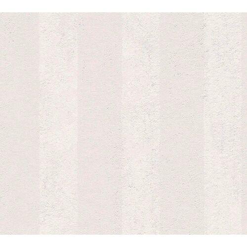 living walls Vliestapete »OK«, Streifen, gestreift, grau