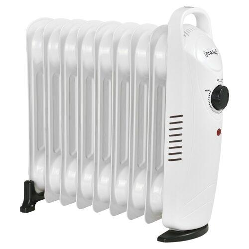 Pro-tec Ölradiator, 1000 W, Mobile Elektroheizung 1000W Heizkörper weiß