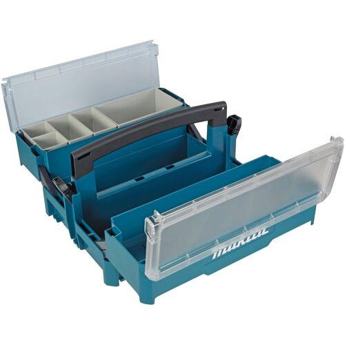 Makita Werkzeugkoffer »P-84137«, leer, 395 x 295 x 233 mm, blau