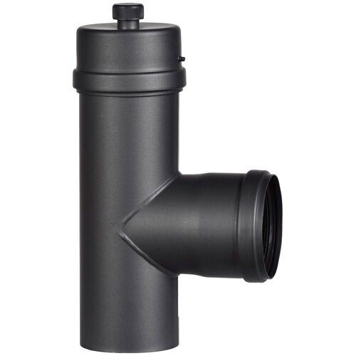 Firefix Anschlussstück, für 80 mm Pelletofenrohr