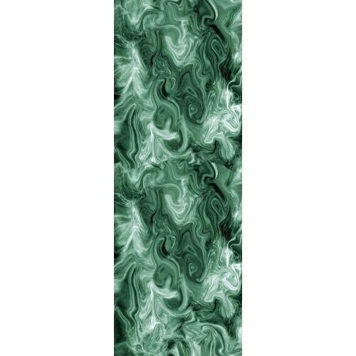 queence Vinyltapete »Zak«, 90 x 250 cm, selbstklebend, grün