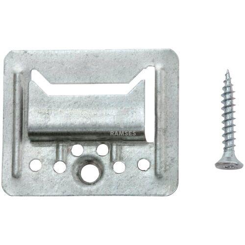RAMSES Profilholzkralle, extra stark inkl. Schrauben 3 mm Stahl verzinkt 100 Stück