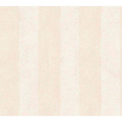living walls Vliestapete »OK«, Streifen, gestreift, beige