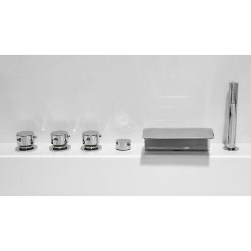 Emotion Whirlpool-Badewanne »Vita Premium Wellness Whirlpool (L/B/H) 145x145x69,5 cm«
