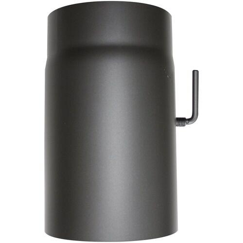 JUSTUS ORANIER Rauchrohr Ø 150 mm, Ofenrohr für Kaminöfen, grau