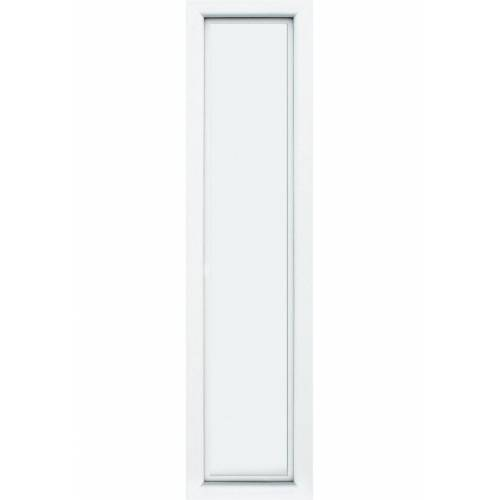 KM Zaun Türseitenteil »S04«, BxH: 50x208 cm, für Alu-Haustür, weiß