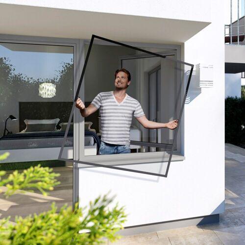 Insektenschutz-Fenster »Spannrahmen PLUS«, BxH: 100x120 cm