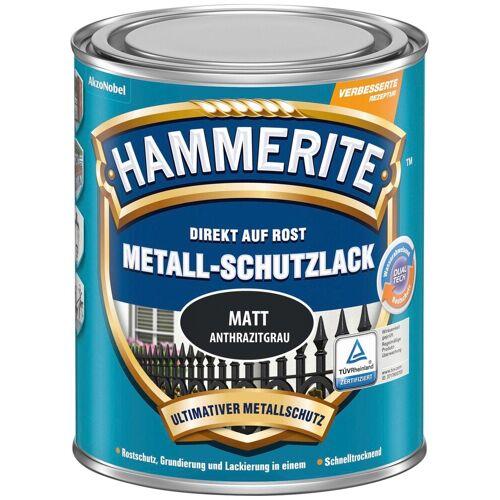 Hammerite Hammerite Metallschutzlack »Matt«, 0,25 Liter, grau