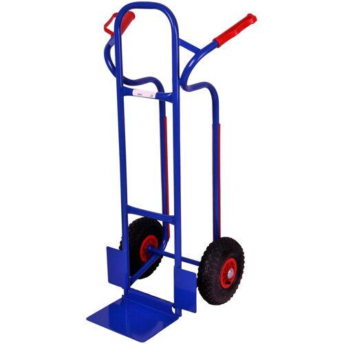 SZ METALL Sackkarre 250 kg, blau