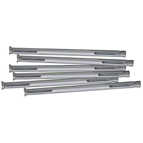 RORO Türen & Fenster RORO TÜREN & FENSTER Dübel-Set Metall, 182 mm, 6 Stück, grau