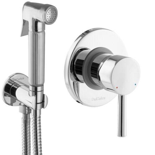 PaulGurkes Bidetarmatur »PGSETBIDETR2« Bidet Set Unterputz WC-Brause Hygienedusche Intimdusche