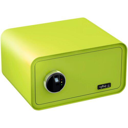 BASI Tresor »mySafe 430«, mit Fingerabdruck, grün