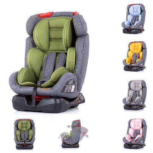Chipolino Autokindersitz »Kindersitz Orbit Gruppe 0+/1/2/3«, 6 kg, (0 - 36 kg) Reboard verstellbar SPS, grün