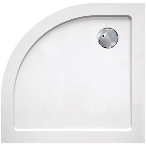 Sanotechnik Duschwanne »SMC«, rund, Kunststoff, rund, BxT: 100 x 100 cm