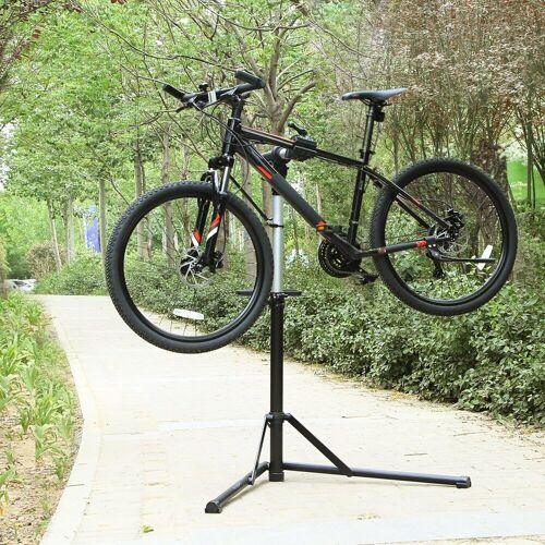 SONGMICS Fahrrad-Montageständer »SBR04B«, Fahrradmontageständer, Montageständer für Fahrrad, schwarz