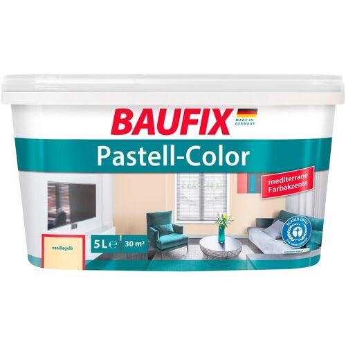 Baufix Wand- und Deckenfarbe »Pastell-Color«, vanillegelb, 5 L, vanillegelb