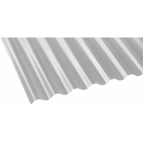 GUTTA Wellplatte »CRYL«, Acryl klar, Wabe, BxL: 104x350 cm
