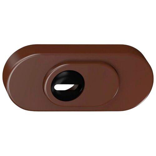 BASI Schutzrosette »SR 100 ZA - Schutzrosette mit Zylinderabdeckung«, 287 g, braun
