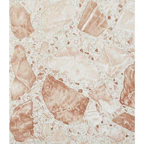 Vinylfliesen »PVC-Fliese«, 1,2 mm, 45 Fliesen, selbstklebend, natursteinoptik, selbstklebend, bruch natursteinfarben