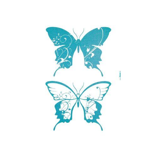 Komar Wandtattoo »Schmetterlinge«, blau
