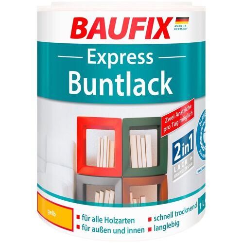 Baufix Acryl Buntlack »Express«, gelb, 1 l, gelb