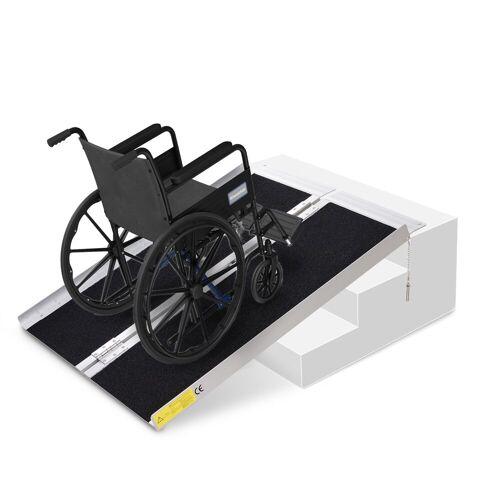 HOMCOM Auffahrrampe »Rollstuhlrampe faltbar«