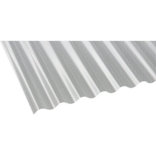 GUTTA Wellplatte »CRYL«, Acryl klar, Wabe, BxL: 104x250 cm