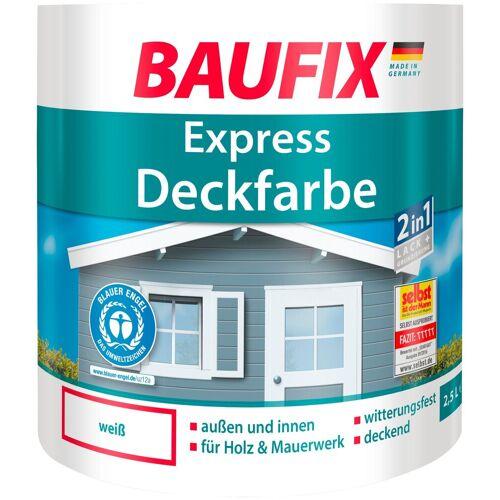 Baufix Lack, 2,5 Liter, weiß