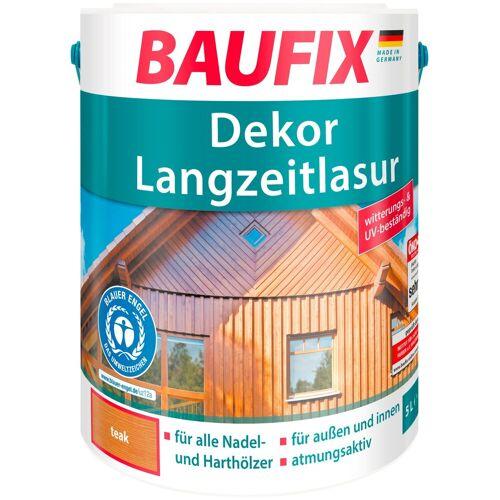 Baufix Holzschutz-Lasur »Teak«, Dekor-Langzeitlasur, braun