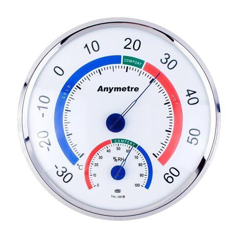 PRECORN »Thermometer - Hygrometer Temperatur / Luftfeuchtigkeit Klimakontrolle« Wetterstation, weiss