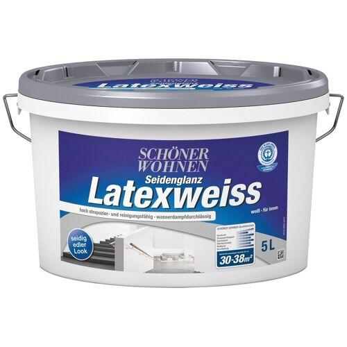 SCHÖNER WOHNEN-Kollektion Latexfarbe »Latexweiß«, 5 l, DIN EN 13 300