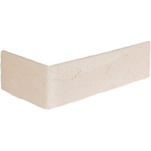 ELASTOLITH Verblender »Rhodos Eckverblender«, BxL: 11,5x7,1 cm, (Set, 24-tlg) cremeweiß, für Innen- und Aussenbereich, 2 Lfm