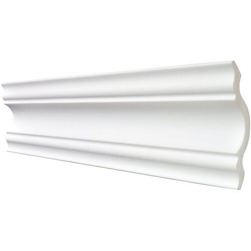 Saapor DECOSA Zierprofil »Selina«, 2 m Länge, weiß