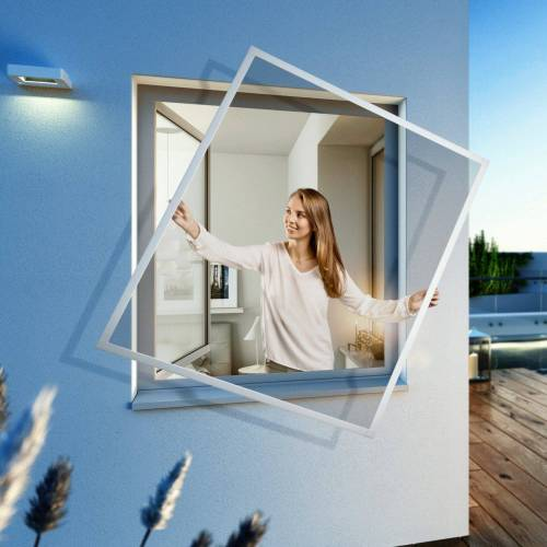 Insektenschutz-Fenster »EXPERT Spannrahmen«, BxH: 100x120 cm