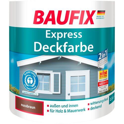 Baufix Lack, 2,5 Liter, braun
