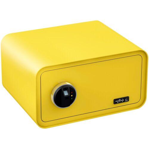 BASI Tresor »mySafe 430«, mit Fingerabdruck, gelb