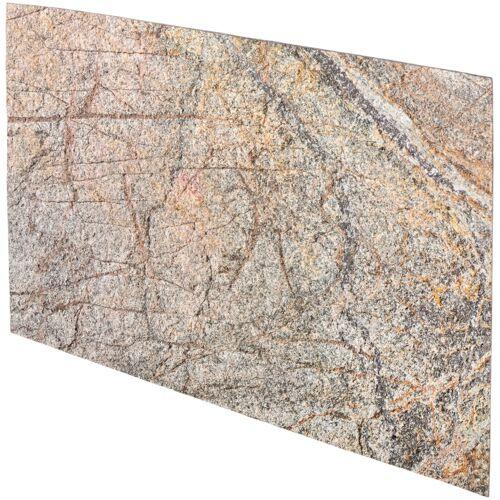 Verblender »Muster Argento«, Echtstein, Din A4, natur-grau
