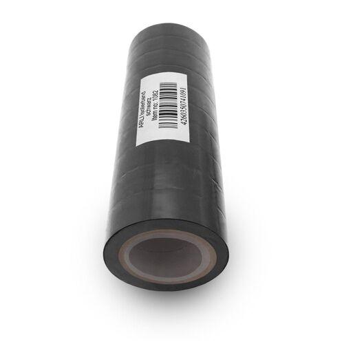ARLI Klebeband »Isolierband Isoband schwarz 10 m Klebeband Elektro Isolier Klebe Band für Handwerker Elektriker Auto KFZ« (10-St)