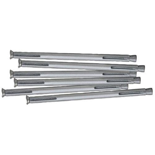 RORO Türen & Fenster RORO TÜREN & FENSTER Dübel-Set Metall, 152 mm, 6 Stück, grau