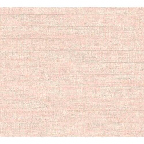 living walls Vliestapete »Streifentapete«, Streifen, gestreift, rosa